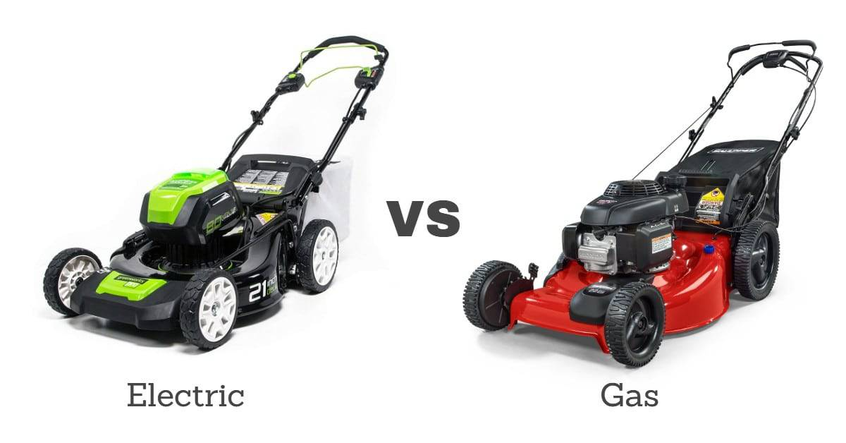 Electric vs Gas Mower