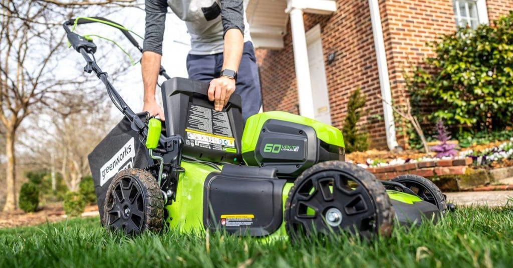 Electric Lawn Mower Maintenance