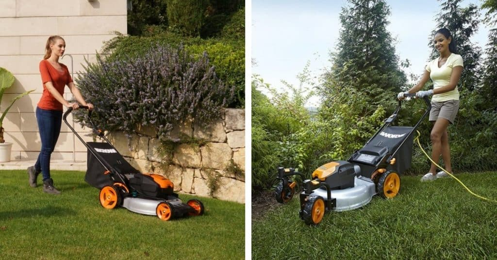 Cordless Vs Corded Electric Lawn Mowers Electric Mower